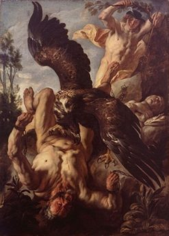 Prometheus | Jacob Jordaens | Oil Painting