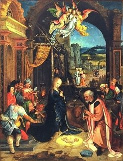 Triptych: The Birth of Christ | Jan de Beer | Oil Painting