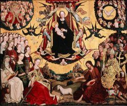 The Glorification of the Virgin | Master of the Glorification of the Virgin | Oil Painting