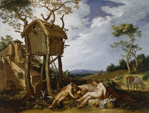 The Parable of the Wheat and the Tares | Abraham Bloemaert | Oil Painting