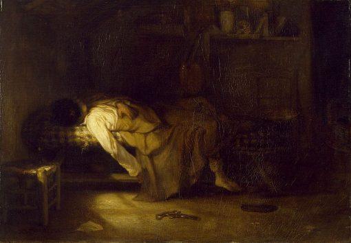 The Suicide | Alexandre Gabriel Decamps | Oil Painting