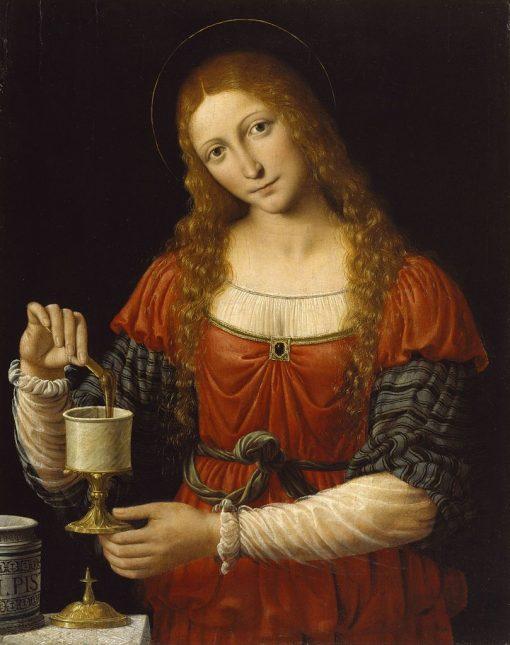 Mary Magdalen | Andrea Solario | Oil Painting