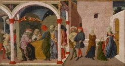 Episodes from the Story of Susannah | Apollonio di Giovanni di Tommaso | Oil Painting