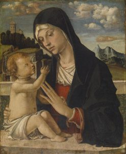 Madonna and Child | Bartolomeo Montagna | Oil Painting