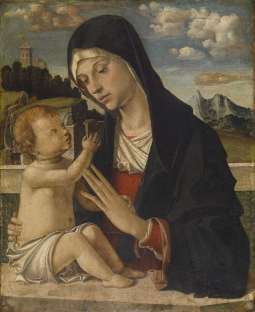 Madonna and Child | Bartolomeo Montagna | Oil Painting