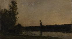Twilight | Charles Francois Daubigny | Oil Painting