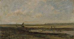 Beach Scene | Charles Francois Daubigny | Oil Painting