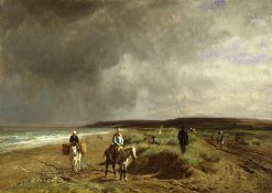Coast near Villers | Constant Troyon | Oil Painting