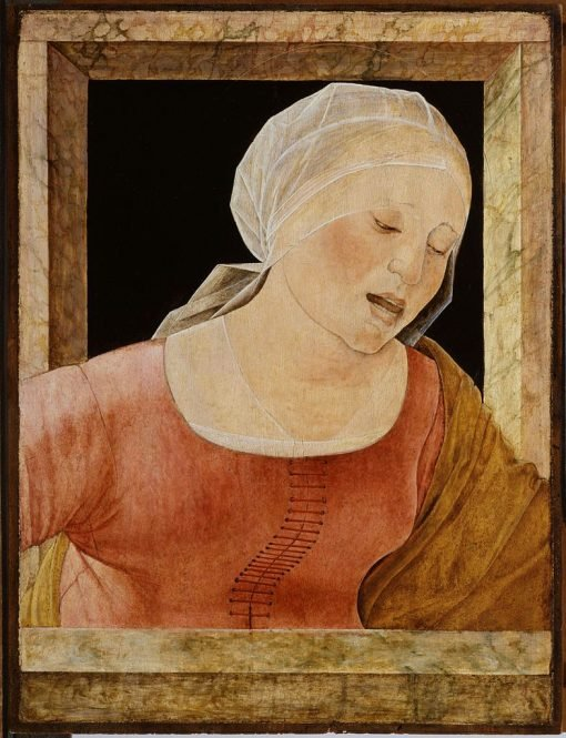 Head of a Mourning Woman | Ercole de' Roberti | Oil Painting