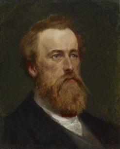 Portrait of William Henry Rinehart | Frank Blackwell Mayer | Oil Painting
