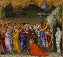 The Resurrection of Lazarus | Giovanni di Paolo | Oil Painting