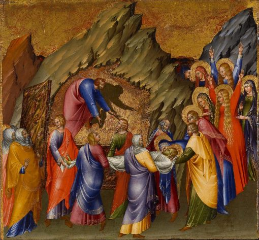 The Entombment | Giovanni di Paolo | Oil Painting