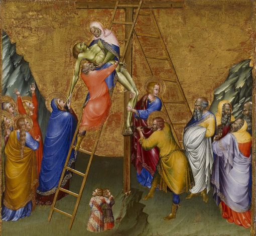 Descent from the Cross | Giovanni di Paolo | Oil Painting