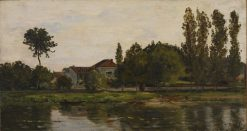 The House of M. Lucas | Hippolyte Camille Delpy | Oil Painting