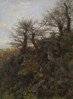 Hunting Scene | Hugh Bolton Jones | Oil Painting