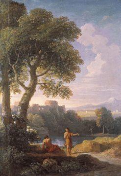 Landscape of the Roman Campagna | Jan Frans van Bloemen | Oil Painting