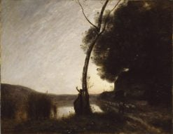 The Evening Star | Jean Baptiste Camille Corot | Oil Painting