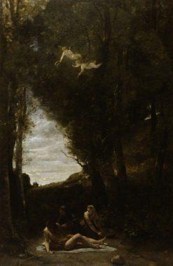 Saint Sebastian Succoured by Holy Women | Jean Baptiste Camille Corot | Oil Painting