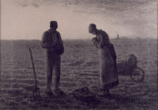 The Angelus | Jean Francois Millet | Oil Painting