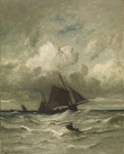 At Sea | Jules DuprE | Oil Painting