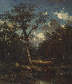 The Old Oak | Jules DuprE | Oil Painting