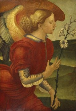 The Archangel Gabriel | Luca Signorelli | Oil Painting
