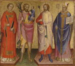 Four Saints | Mariotto di Nardo | Oil Painting
