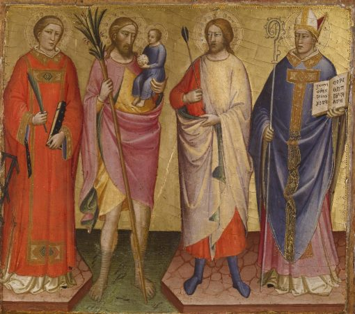 Four Saints   Mariotto di Nardo   Oil Painting