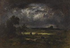 The Storm | Narcisse Dìaz de la Peña | Oil Painting