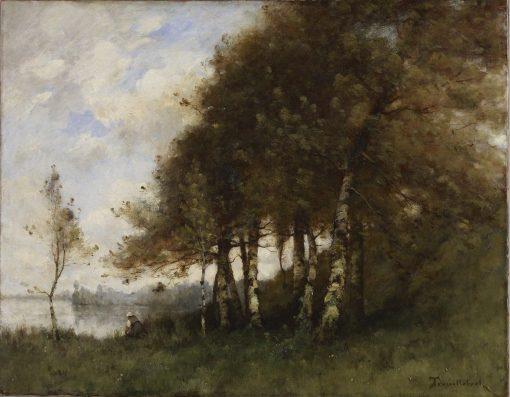 Landscape | Paul DEsirE Trouillebert | Oil Painting