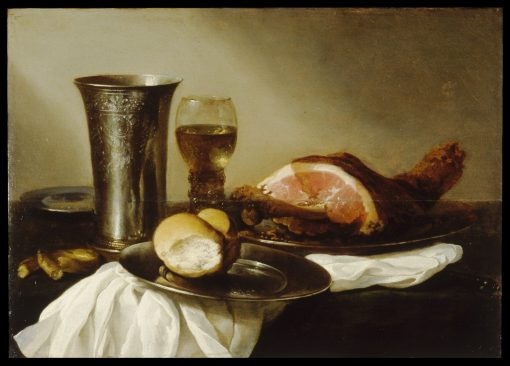 Breakfast Piece   Pieter Claesz   Oil Painting