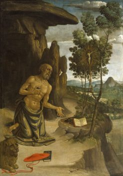 Saint Jerome in the Wildnerness | Pinturicchio | Oil Painting