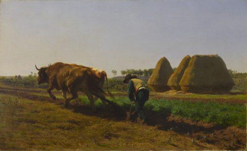 Ploughing Scene | Rosa Bonheur | Oil Painting