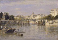 The Estacade Bridge | Stanislas LEpine | Oil Painting