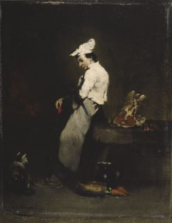The Young Cook | ThEodule Augustin Ribot | Oil Painting