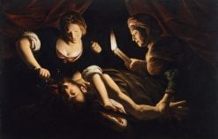 Judith Cutting Off the Head of Holofernes | Trophime Bigot | Oil Painting
