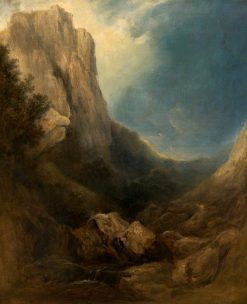 Mountain Scenery | William James Muller | Oil Painting