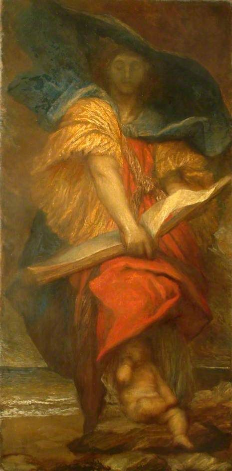 Destiny   George Frederic Watts   Oil Painting