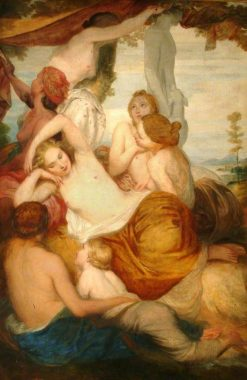 Diana's Nymphs | George Frederic Watts | Oil Painting