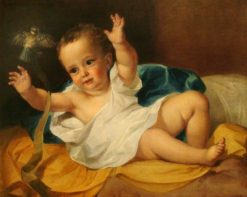 Gerald Hamilton as an Infant | George Frederic Watts | Oil Painting