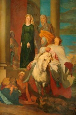 Guelphs and Ghibellines | George Frederic Watts | Oil Painting