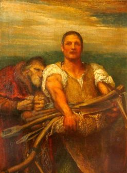 Industry and Greed | George Frederic Watts | Oil Painting