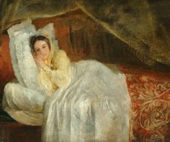 Lady Holland on a Daybed | George Frederic Watts | Oil Painting