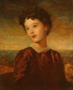 Lady Gurney | George Frederic Watts | Oil Painting
