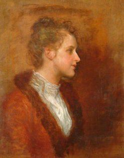 Lila Prinsep | George Frederic Watts | Oil Painting