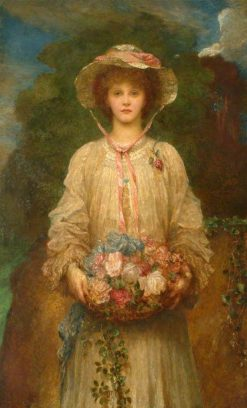 Lilian | George Frederic Watts | Oil Painting