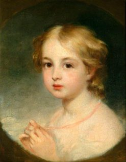 Little Miss Hopkins | George Frederic Watts | Oil Painting