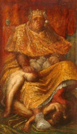 Mammon | George Frederic Watts | Oil Painting