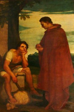 Aristides and the Shepherd | George Frederic Watts | Oil Painting