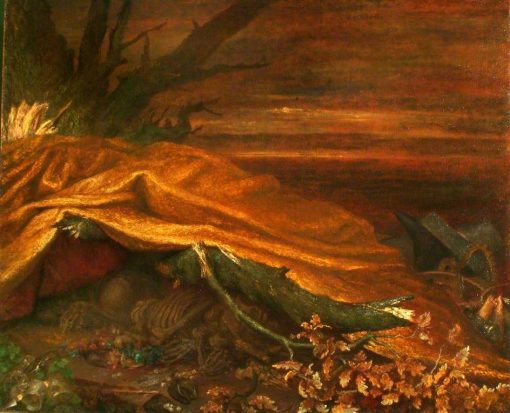 Can These Bones Live ? | George Frederic Watts | Oil Painting